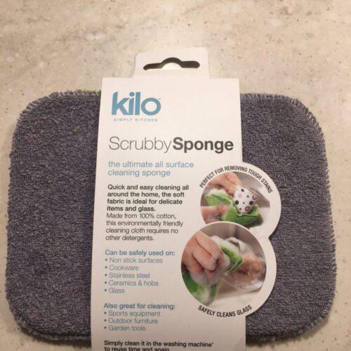 Cotton scrubby sponge